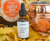 Populum's Unflavored CBD with a CBD-infused Pumpkin mule